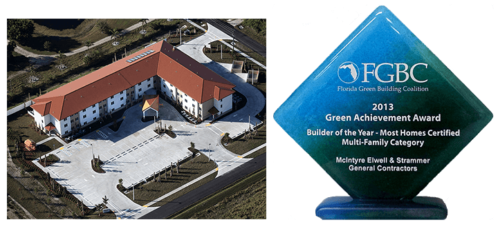 Pope John Villas - Green Building Construction