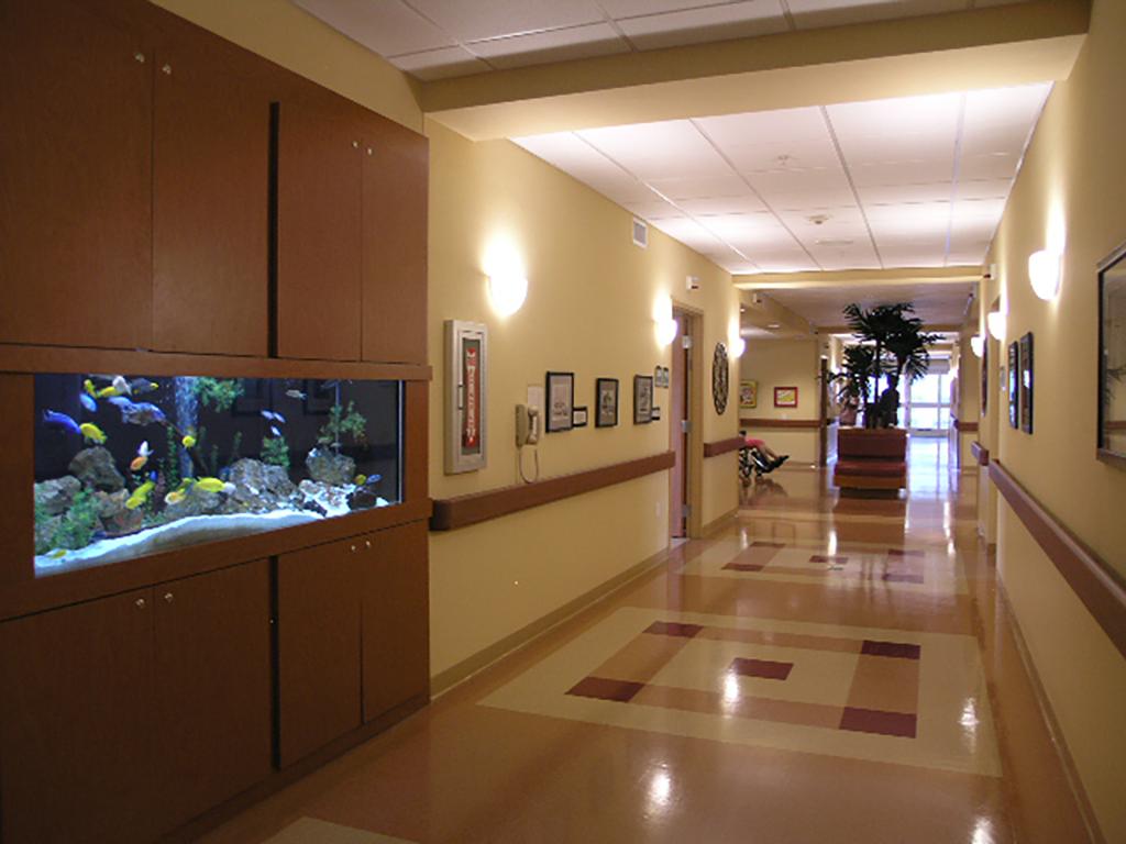 Pines of Sarasota Rehab - Hallway